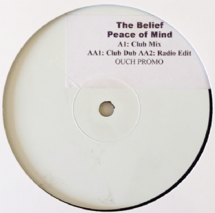"Belief (The) - Peace Of Mind (12"") (Promo) (VG-/NM)"
